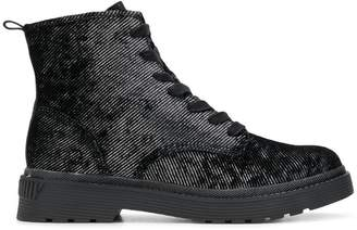 9fadc59aade8 Calvin Klein Lace Up Boots - ShopStyle