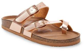 Mad Love Women's Mad Love® Prudence Footbed Sandals $22.99 thestylecure.com