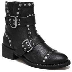 Sam Edelman Drea Studded Leather Ankle Boots