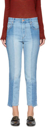 Etoile Isabel Marant Blue Slim Clancy Jeans
