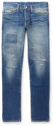 Visvim Social Sculpture 04 Slim-Fit Distressed Denim Jeans