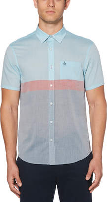 Original Penguin COLOR BLOCK LAWN SHIRT