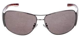 64e9519fe824 Pre-Owned at TheRealReal · Prada Tinted Aviator Sunglasses