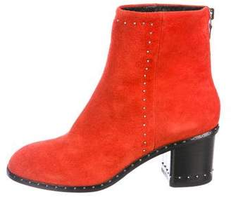 Rag & Bone Willow Stud-Trimmed Booties