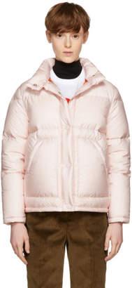 Prada Pink Down Puffer Jacket