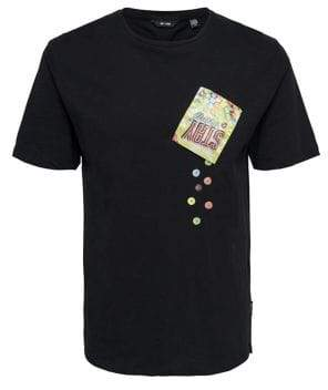 ONLY & SONS Printed Pocket Cotton Tee