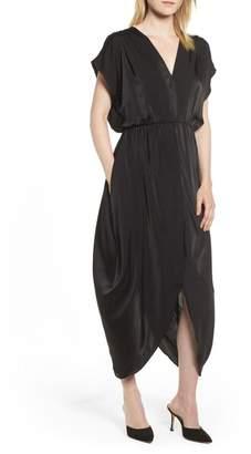 Halogen Faux Wrap Maxi Dress (Regular & Petite)