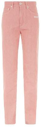 Off-White Pinstripe Jeans