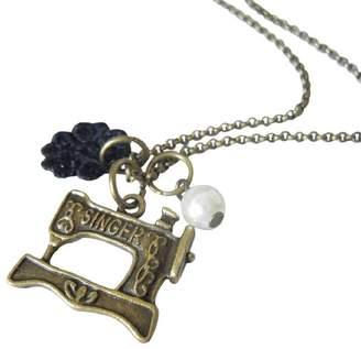 LaBelle et la Bete Sewing Machine Charm Necklace