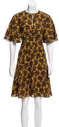 Michael Kors Paisley Silk Dress w/ Tags