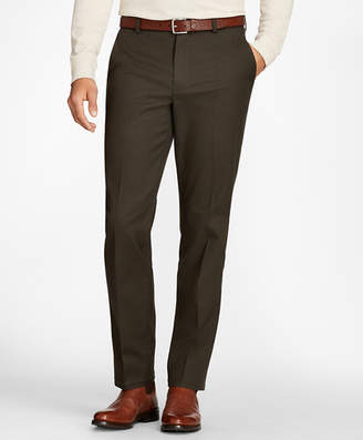 Brooks Brothers Clark Fit Three-Color Houndstooth Advantage Chinos