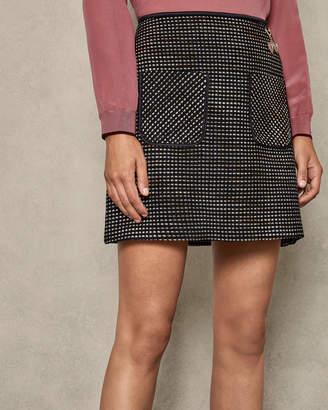 Ted Baker SHAULA Boucle skirt