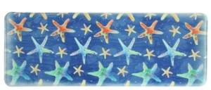 "Bacova Watercolor Starfish 20""x55"" Memory Foam Runner Bedding"