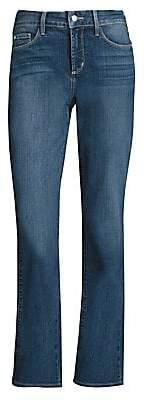NYDJ Women's Marilyn Straight Leg Jeans - Size 0