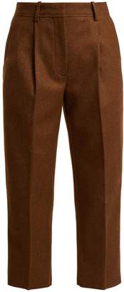 Acne Studios Tapered wool-blend trousers
