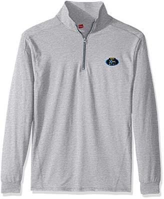 Hanes Men's Long Sleeve Quarter Zip Pullover