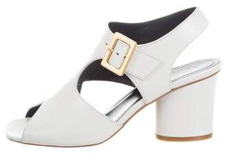Celine Day Ankle-Strap Sandals w/ Tags