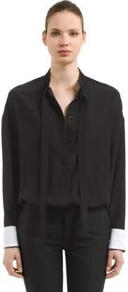 Haider Ackermann Silk Shirt With Ties