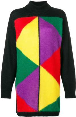 JC de CASTELBAJAC Pre-Owned 1980's block colour jumper