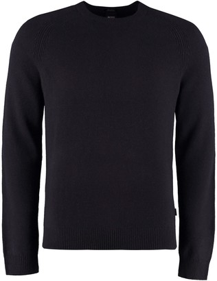 HUGO BOSS Cashmere Crew-neck Pullover