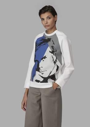 Giorgio Armani Sweatshirt With Photographic Print