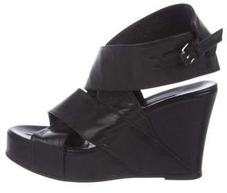 Ann Demeulemeester Platform Wedge Sandals