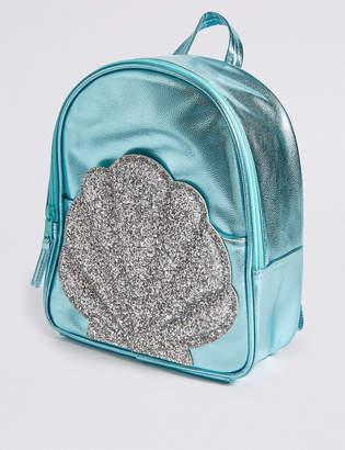 Marks and Spencer Kids' Metallic Shell Backpack