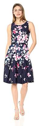 Eliza J Women's Fit and Flare Dress with Belt