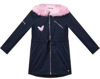 Juicy Couture Faux Fur Lined Parka for Girls