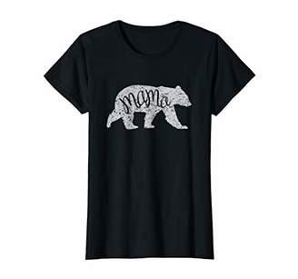 Womens Mama Bear Shirt Graphic Tee