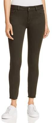 Margaux DL1961 Mid Rise Instasculpt Skinny Jeans in Dark Olive