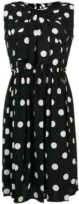 Marc Jacobs polka dot bow-detail dress