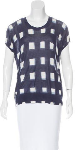 Tory Burch Tory Burch Abstract Print Sleeveless Top