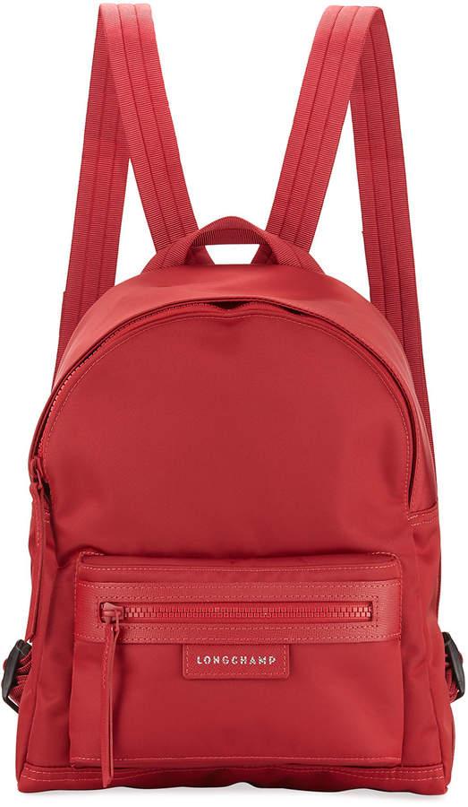 Longchamp Le Pliage Small Nylon Backpack - MEDIUM RED - STYLE