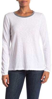 Michael Stars Crew Neck Long Sleeve Shirt