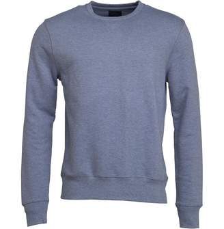 Peter Werth Mens Padfield Crew Sweat Athletic Grey