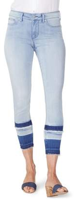 NYDJ Ami High Waist Double Release Hem Skinny Ankle Jeans