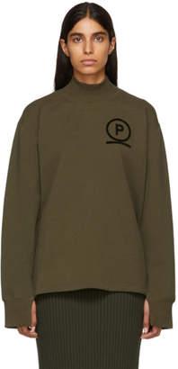 Ports 1961 Green Turtleneck Sweatshirt
