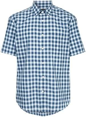 Durban D'urban checked short sleeve shirt