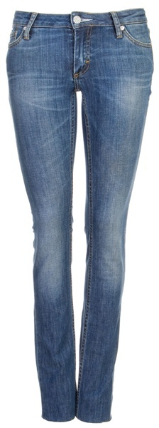 ACNE - Super skinny mid rise denim jeans