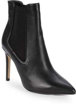 Harrison Leather Stiletto Booties