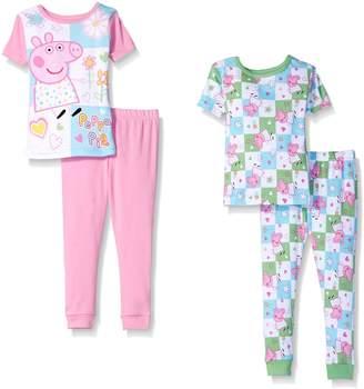 Peppa Pig Toddler Girls' 4 Piece Cotton Set