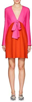 Lisa Perry Women's Colorblocked Crepe Sheath Dress