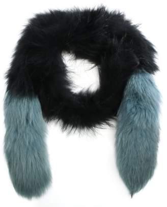 Oakwood Long Island Blue Fur Stole