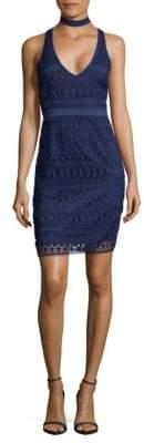 LIKELY Lace Choker Dress