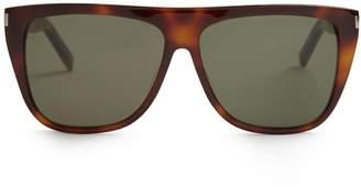 Saint Laurent Flat-top acetate sunglasses
