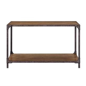 Accentrics Home Irwin Wood & Metal Sofa Table