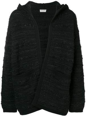 Saint Laurent hooded cardigan