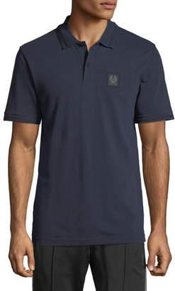 Belstaff Piqué;-Knit Polo Shirt