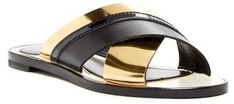 Lanvin Criss-Cross Slide Sandal